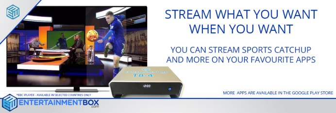 watch sports on your smart TV box