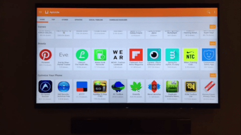 Aptoide Android app store