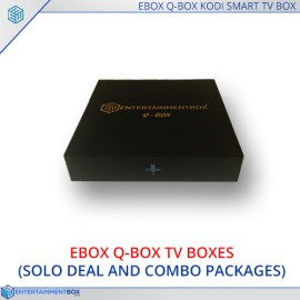 EBox® Q Box Ultra Compact Smart Kodi TV Box