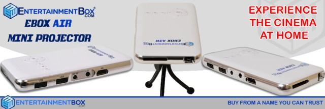 New Ebox air Projectors powered By Android