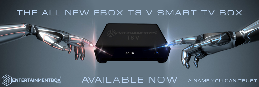 T8 V Android powered TV box