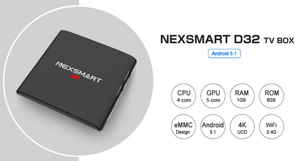 D32 TV Box Android 5.1 Firmware Download