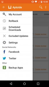 how to download the Aptoide Apk.