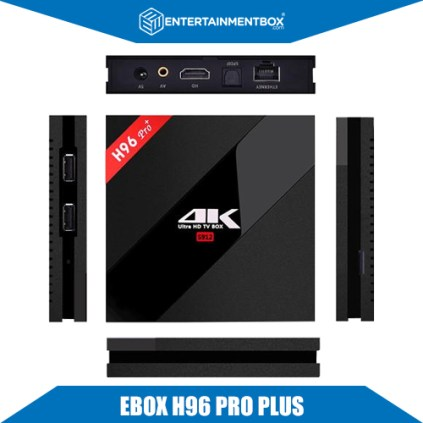 EBOX H96 PRO+ smart box 7.1 android