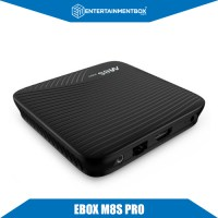 EBox M8s Pro 4K Smart Box back view