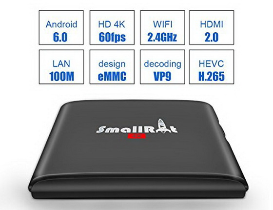 Latest SMALLRT X1 TV Box Android Marshmallow 6.0 Firmware Download
