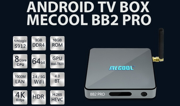 Latest Mecool BB2 Pro TV Box Firmware Download Android 6.0