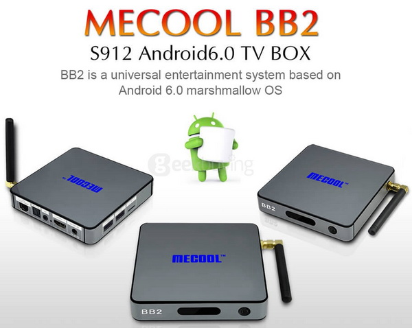 Latest Mecool BB2 TV Box Firmware Download Android Marshmallow 6.0
