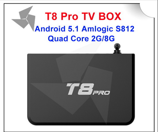 Latest T8 Pro TV Box Firmware Download Android Lollipop 5.1.1