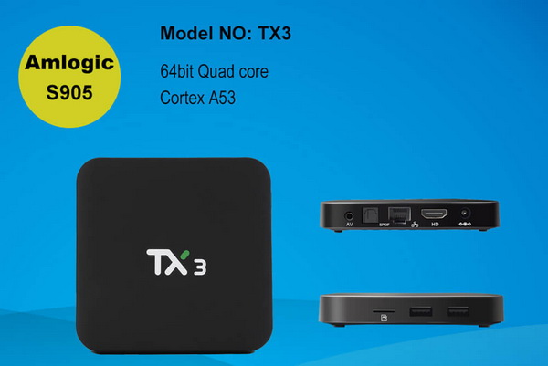 Latest Tanix TX3 TV Box Firmware Download Android Lollipop 5.1.1