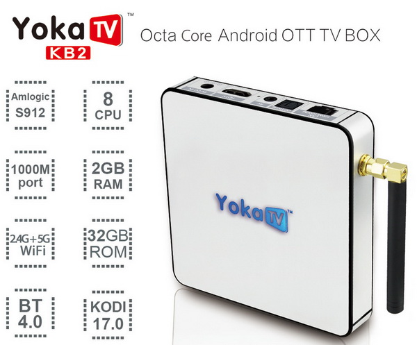 Latest YOKA KB2 TV Box Firmware Download Android Marshmallow 6.0.1