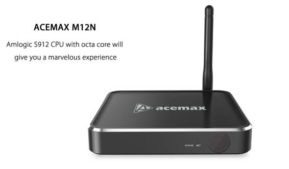 Latest Acemax M12N TV Box firmware Download Android 6.0