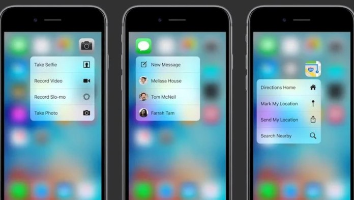 3D Touch on iPhones seems to be on the way to being removed