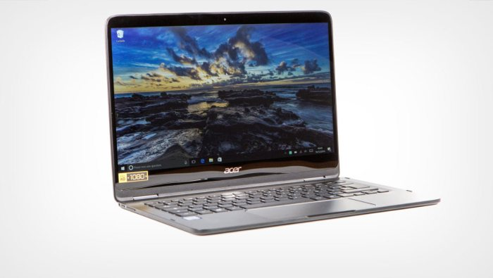 Acer Spin 7 (SP714-51-M37P): the full test