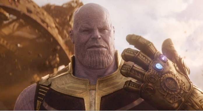 Avengers Infinity War Thanos Marvel Movie