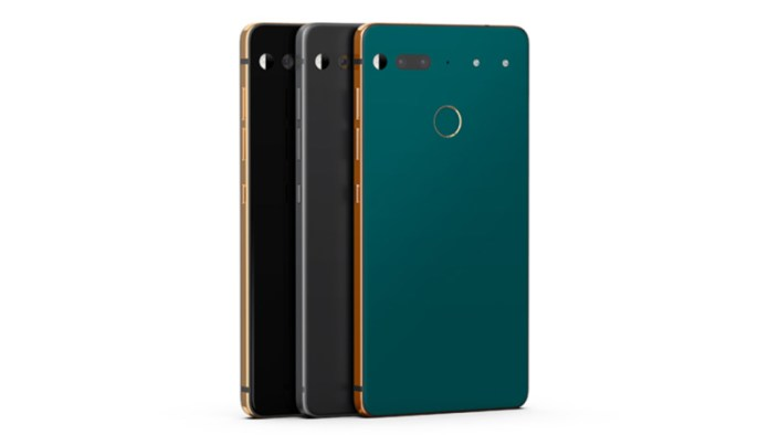 Essential Android Phone Oreo 8.1