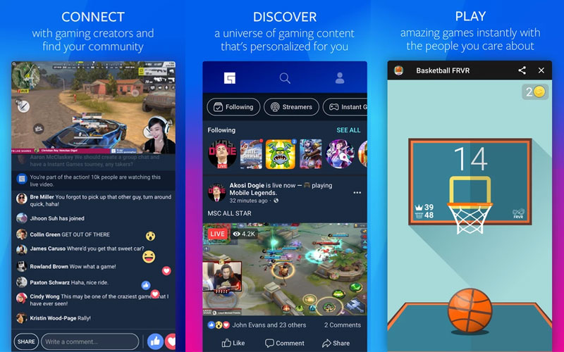 Facebook continues 'attack' on Twitch with Android app - Entertainment Box