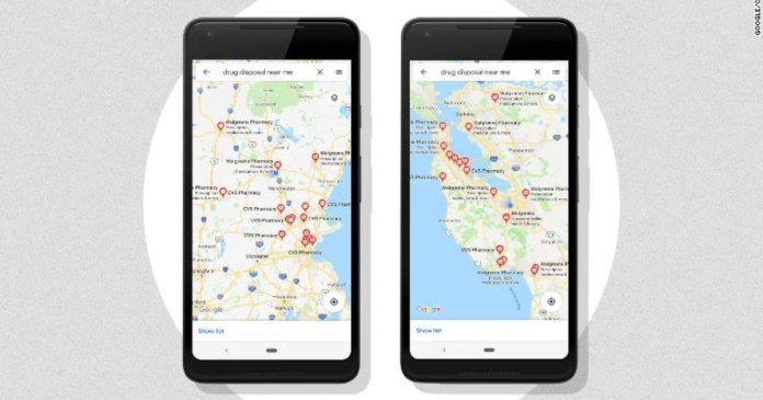 Google Maps will help you find a place to park your car!