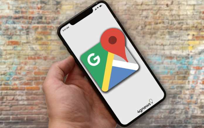 Google Maps iOS Android Application