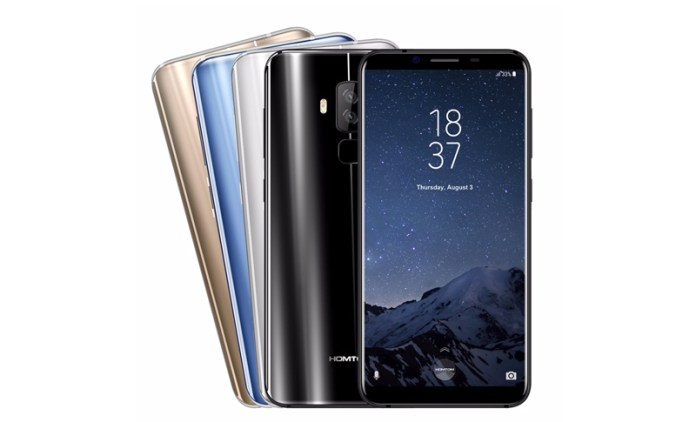 HomTom S8: the clone of the Samsung Galaxy S8 priced around 170 €