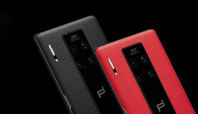 Huawei Mate 30 Porsche RS was presented with very high price