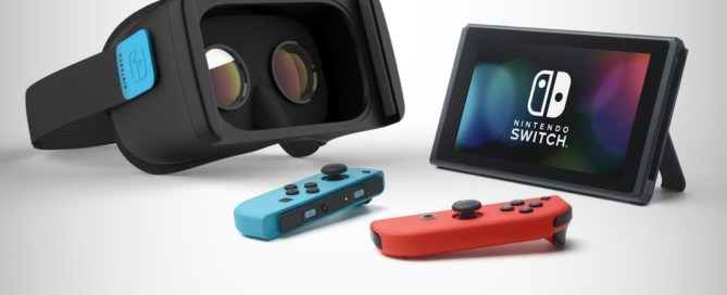 Nintendo Switch with virtual reality may be on its way
