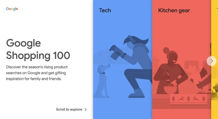 No ideas for Christmas gifts? Google service shows you what's hot