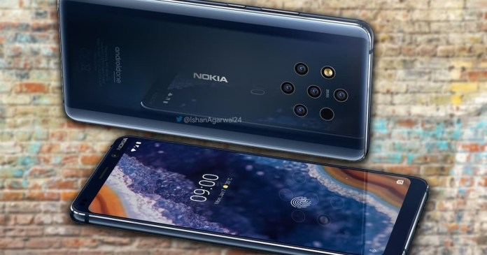 Nokia 9 PureView official images confirm its design