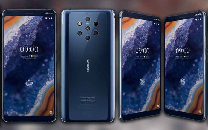 Nokia 9 PureView Official Render