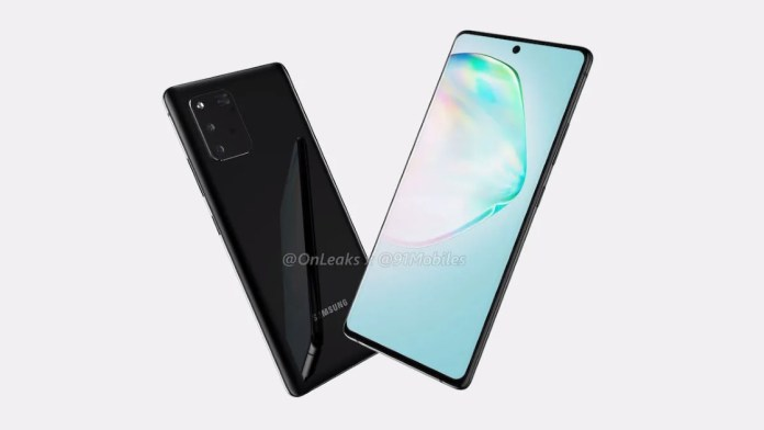 Samsung Galaxy S10 Lite and Note 10 Lite near the launch. Do you know why