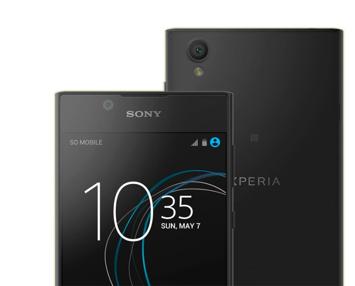 Sony Xperia L1 Android Update