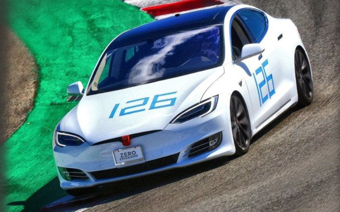 """Tesla Model S with """"Plaid Mode"""" breaks the Laguna Seca track! (awesome video)"""
