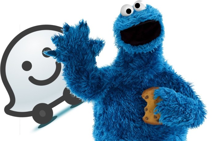 Waze prepares to receive the voice of the Cookie Monster!