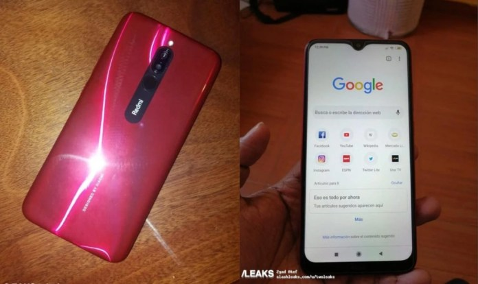 Xiaomi Redmi 8: Real Images Reveal Design and Specs