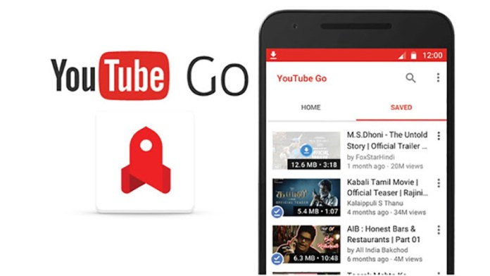 YouTube Go Android Google Play Store