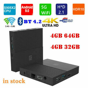A95X F2 Smart Home TV Box 4K Android 9.0 Amlogic S905X2 4GB+64GB/32GB Dual WiFi