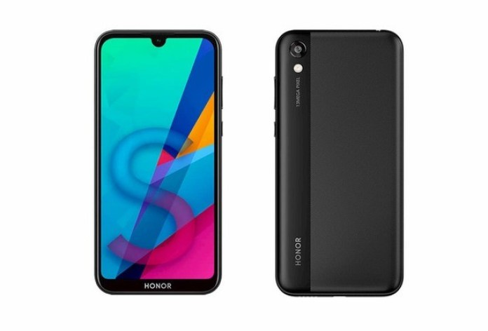 Huawei Honor 8S front and back