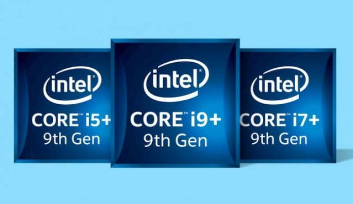 Intel Ninth Generation i9 i7 i5
