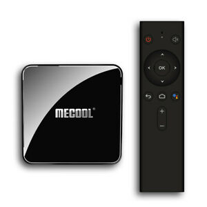 MECOOL KM3 Smart Android 9.0 TV Box Media Player Amlogic S905X2 4GB+64GB U N7A3