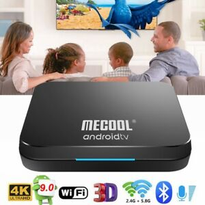 MECOOL KM9 Pro Smart 4K TV Box Android 9.0 Amlogic 4GB+32GB 5G WiFi Voice Remote