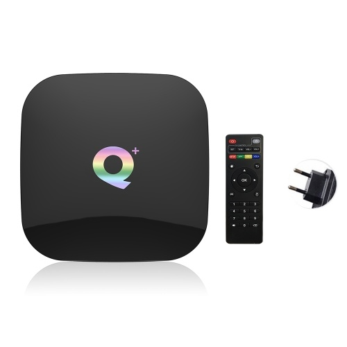 Q Plus Smart TV Box Android 9.0 Allwinner H6 2GB / 16GB 6K H.265 Media Player USB3.0 2.4G WiFi Set Top Box PK S905X2 T95Q X96 max