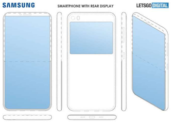 samsung patent two screen smartphone