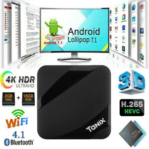 Tanix TX3 MAX 4K TV Box Amlogic S905W Android 7.1 Set-top Box WiFi Video Player