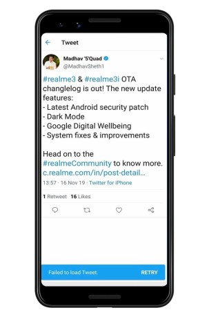 Realme CEO uses iPhone
