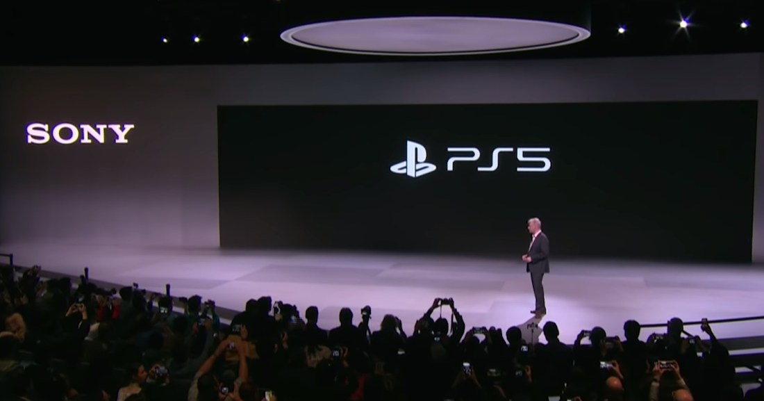 PS5 official logo