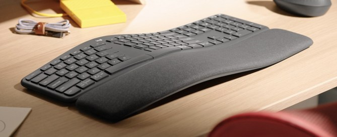 "Logitech MX Ergo K860, a keyboard designed not to ""break"" your wrists"