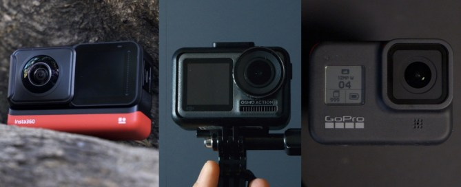 GoPro Hero 8 vs Osmo Action vs Insta360 One R: which is the best sports camera?