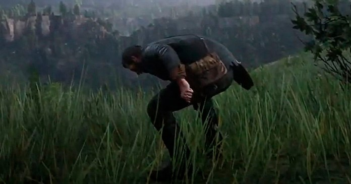 This vomiting trick allows you to jump cliffs without dying in Red Dead Redemption 2