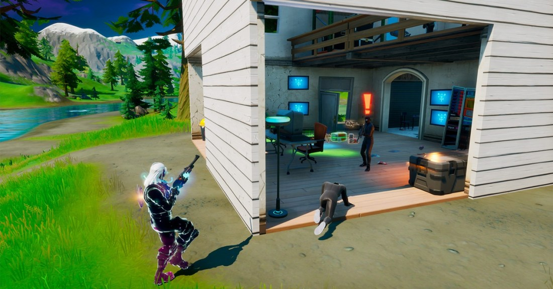 Fortnite Season 2 Shadow Shelter