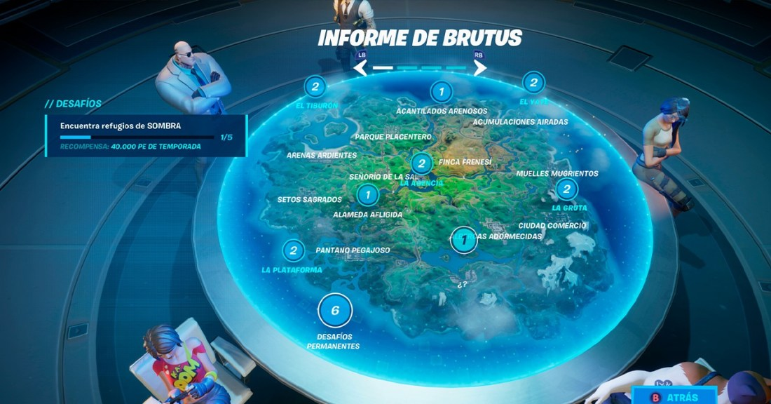 Fortnite Brutus Report